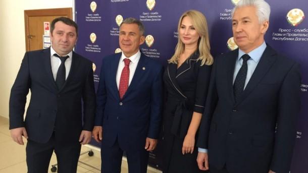 Делегация РТ во главе с Президентом Республики посетила Дагестан