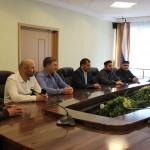 Встреча с представителями правительства и Муфтията Республики Дагестан
